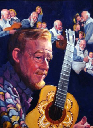 Burl Ives, 33°, Grand Cross