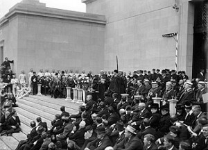 House of the Temple Dedication 1915
