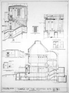 Original Temple Blueprints