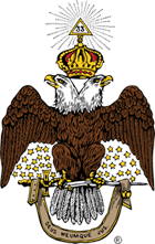 Scottish Rite 33rd Degree Eagle logo