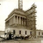 Construction of the Temple, 1913