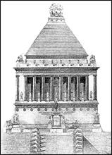 Tomb of Mausolus at Halicarnnasus, Turkey