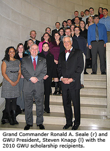 2010 GWU Scholarship Recipients