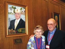 Billy Joe Hildreth, 33°, and his wife, Darlene