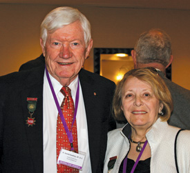 Harold Gwatney, 33°, GC, and his wife Syble