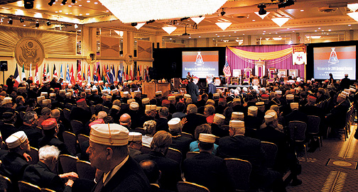 Attendees of the Opening Session of the 2009 Supreme Council
