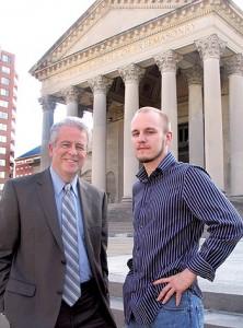 Dean Alban, 33°, and Jason Orem