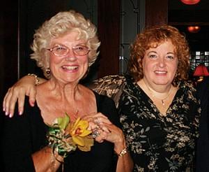Mrs. Beverly Rainbolt and Barbara Golden
