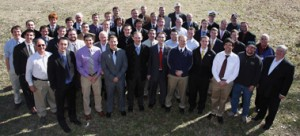 Members of Sigma Pi Epsilon and Bremond Lodge