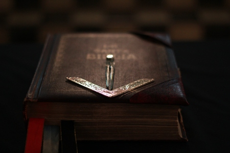 "Honorable Mention, ""The Bible,"" by Javier O. Jerez-Lopez, 32, Valley of San Juan"
