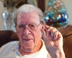 Don Browning and his ring