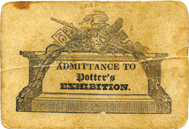 Ticket to a Richard Potter performance