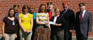 Armed Forces Scottish Rite Bodies at Fort Leavenworth, Kansas, (Armed Forces Consistory) donate $1,500 to fund a KUMC diagnostic outreach clinic for post children