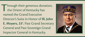 Notice for Orient of Kentucky gift