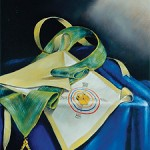 Fifth Degree, Perfect Master, painting by Robert H. White, 32°