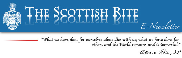 Banner—The Scottish Rite E-Newsletter