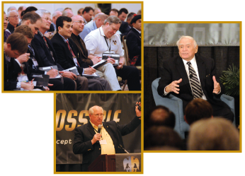 Photo collage from San Diego Leadership Conference, March 2012