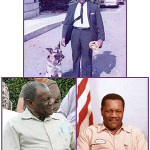 Photo collage of Frank Simpkins