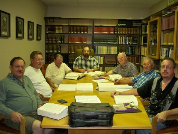 Members in Idaho at a Master Craftsman study group.