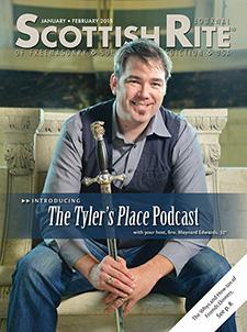 Cover of January-February 2015 Scottish Rite Journal