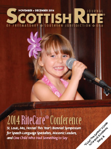 Cover of November-December 2014 Scottish Rite Journal