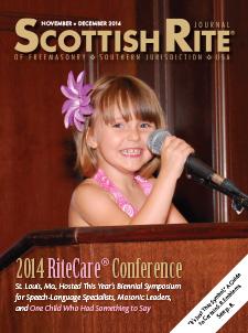 Cover of November-December 2014 Scottish Rite Journal