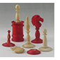 Part of Albert Pike's Chess Set