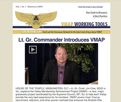 Excerpt of first issue of the VMAP Working Tools Newsletter