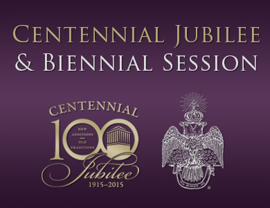 2015 Biennial Session and Centennial Jubilee graphic