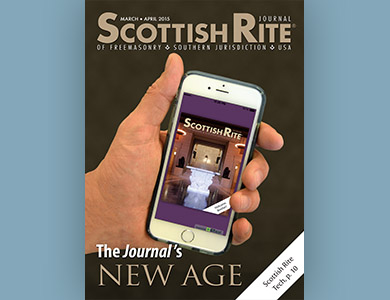Cover of March-April 2015 Scottish Rite Journal