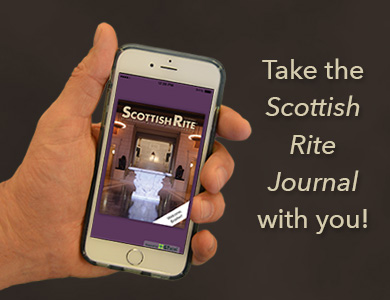 Take the Scottish Rite Journal with you!
