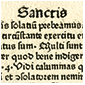 Detail from Sermones de tempore et de sanctis (Sermons for certain times and Saints' days)