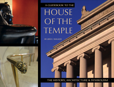 Cover of the Guidebook to the House of the Temple with two photos