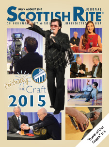 Cover of the July-August 2015 Scottish Rite Journal