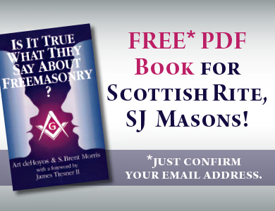 Free PDF Book for Scottish Rite, SJ, Masons—Just confirm your email address.