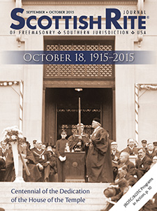 Cover of the September-October 2015 Scottish Rite Journal