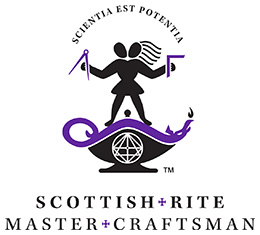 Scottish Rite Master Craftsman Program Logo