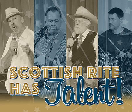 Collage of four finalists from 2015 Scottish Rite Has Talent