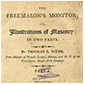 Thumbnail of Freemasons' Monitor; or Illustrations of Masonry: In Two Parts