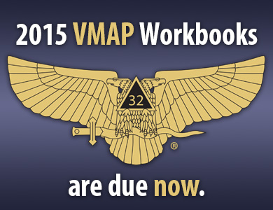 2015 VMAP Workbooks are due now.