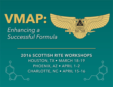 Title Graphic for 2016 SR Workshops, VMAP: Enhancing a Successful Formila