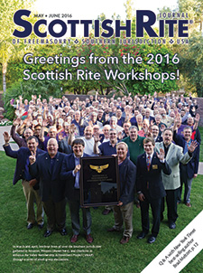 Cover of the May-June 2016 Scottish Rite Journal