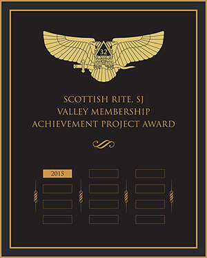 Mockup of the VMAP Achievement Award