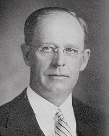 Photograph of MWBro. Benjamin L. Hadley