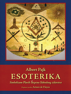 Cover of Albert Pike's Esoterika, Serbian edition