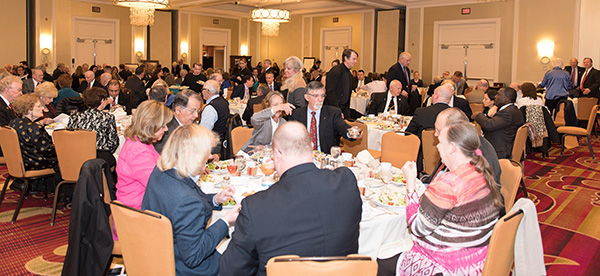 Nearly 200 guests attended the Valley of Alexandria, VA's Scottish Rite Friends Dinner!