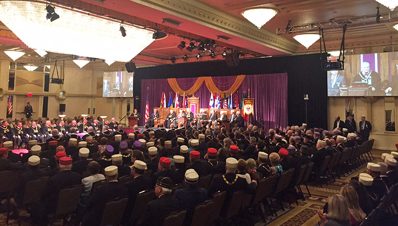 2015 Opening Session of the Supreme Council, 33°, SJ, USA