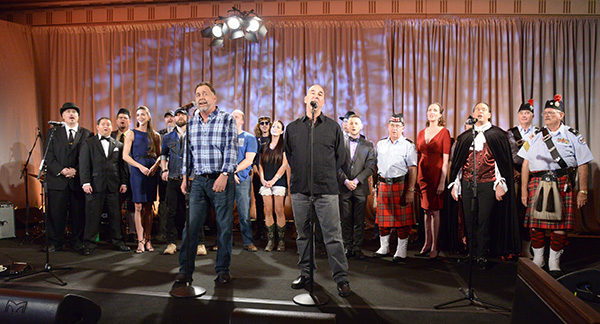 Talent finalists and guests perform the finale at the 2016 Celebrating the Craft.
