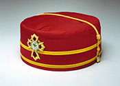 32°, Knight Commander of the Court of Honour, Scottish Rite cap