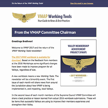 Excerpt of the Volume 4, Number 1 issue of the VMAP Working Tools